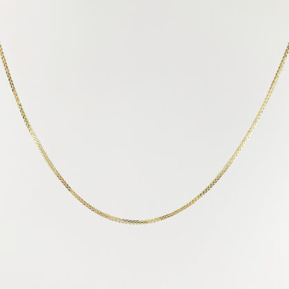 שרשרת זהב בלי תליון